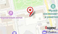 Гостиница Большой Урал на карте