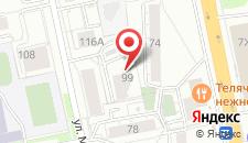 Апарт-отель Карамель на карте