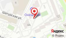 Отель Онежский на карте