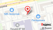 Отель Сьют на карте