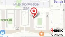 Гостиница Стрелец на карте