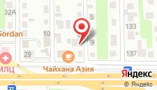 Гостиница Северокрымская на карте