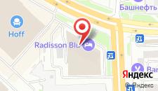 Отель RADISSON BLU HOTEL CHELYABINSK на карте