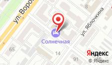Гостиница Городки на карте