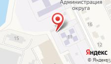 Гостиница Мариинский на карте