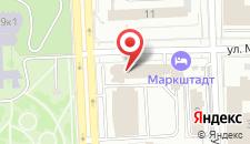 Гостиница Маркштадт на карте