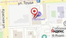 Гостиница Малахит на карте