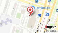Гостиница Челябинск на карте