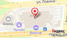 Отель ВИДГОФ на карте
