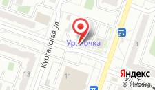 Гостиница Уралочка на карте