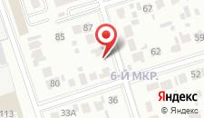 Отель Dostyk Luxe на карте