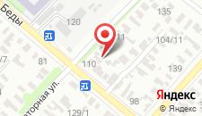 Апартаменты на Леонида Беды на карте
