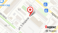 Гостиничный комплекс Тобол на карте