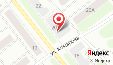 Мини-гостиница Александра на карте