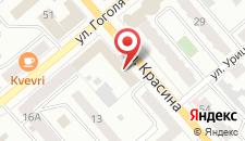 Гостиница Москва на карте