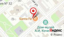 Гостиница Дворянская на карте