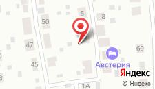 Отель Австерия на карте