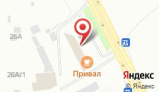 Гостиница Радуга на карте