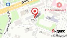 Отель Московский дворик на карте