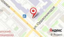Апарт-отель Симпатико на карте