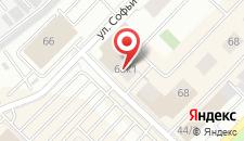 Комплекс апартаментов Даудель Тюмень Центр на карте
