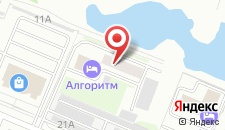 Гостиница Алгоритм на карте