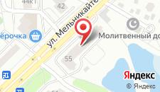 Хостел Отель Друзей  на карте