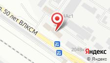Гостиница Олимп-5 на карте