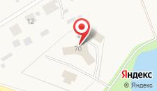 Гостиница Полярный круг на карте