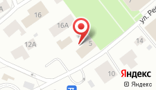 Гостиница Русский Север на карте