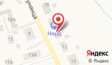 Гостиница Норд на карте