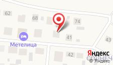 Гостиница Метелица на карте