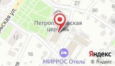 Гостиница Георгиевская на карте
