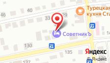 Гостиный дом На Рознина на карте