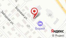 Гостиница Борей на карте