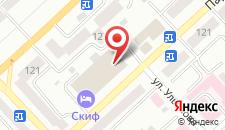 Гостиничный комплекс Скиф на карте