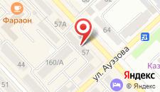 Апартаменты Барселона на карте