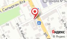 Отель Ай Ару на карте