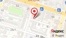 Хостел ShymCity на карте
