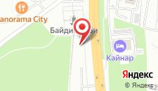Гостиница Кайнар на карте