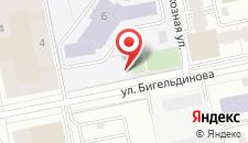 Апартаменты на Абайя 8 на карте