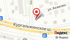 Отель Астана Централ на карте