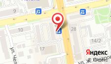 Апартаменты Burlin на карте