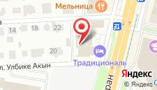 Бутик-Отель Traditional на карте