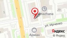 Отель Park Inn by Radisson Астана на карте