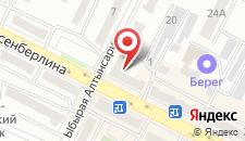 Отель Индус на карте