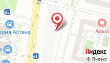 Хостел Астана Бест на карте