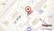 Апартаменты Астана Триумф 11 на карте