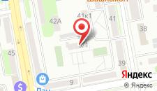 Отель Абсолют на карте