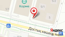 Апартаменты На Проспекте Достык 5/1 на карте